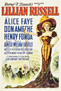 "Movie Posters:Musical, Lillian Russell (20th Century Fox, 1940). One Sheet (27"" X 41""). Style A.. ..."