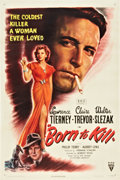 "Movie Posters:Film Noir, Born to Kill (RKO, 1946). One Sheet (27"" X 41"").. ..."