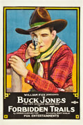 "Movie Posters:Western, Forbidden Trails (Fox, 1920). One Sheet (27"" X 41"").. ..."