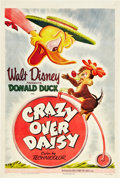 "Movie Posters:Animated, Crazy Over Daisy (RKO, 1950). One Sheet (27"" X 41"").. ..."