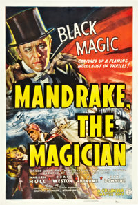 "Mandrake the Magician (Columbia, 1939). One Sheet (27"" X 41"")"