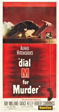 "Movie Posters:Hitchcock, Dial M for Murder (Warner Brothers, 1954). Three Sheet (41"" X81"").. ..."
