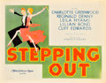 "Movie Posters:Musical, Stepping Out (MGM, 1931). Title Lobby Card (11"" X 14"").. ..."