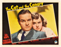 """Movie Posters:Mystery, The Cat and the Canary (Paramount, 1939). Lobby Card (11"""" X 14"""").. ..."""