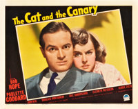 """The Cat and the Canary (Paramount, 1939). Lobby Card (11"""" X 14"""")"""