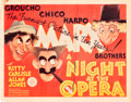 "Movie Posters:Comedy, A Night at the Opera (MGM, 1935). Title Lobby Card (11"" X 14"").. ..."