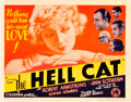 "Movie Posters:Drama, The Hell Cat (Columbia, 1934). Title Lobby Card (11"" X 14"").. ..."