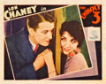 "Movie Posters:Crime, The Unholy Three (MGM, 1930). Lobby Card (11"" X 14"").. ..."