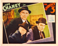 "The Unholy Three (MGM, 1930). Lobby Card (11"" X 14"")"