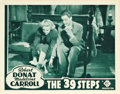 """Movie Posters:Hitchcock, The 39 Steps (Gaumont, R-1938). Lobby Card (11"""" X 14"""").. ..."""