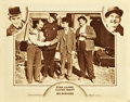 "Movie Posters:Comedy, Big Business (MGM, 1929). Lobby Card (11"" X 14"").. ..."
