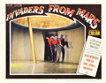 "Movie Posters:Science Fiction, Invaders from Mars (20th Century Fox, 1953). Lobby Card (11"" X 14"").. ..."