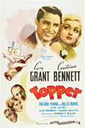 "Movie Posters:Comedy, Topper (Film Classics, R-1944). One Sheet (27"" X 41"").. ..."