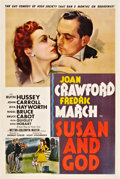 """Movie Posters:Comedy, Susan and God (MGM, 1940). One Sheet (27"""" X 41"""") Style C.. ..."""
