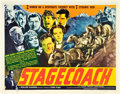 "Movie Posters:Western, Stagecoach (United Artists, 1939). Half Sheet (22"" X 28"").. ..."