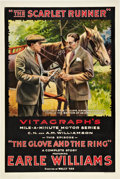 "Movie Posters:Serial, The Scarlet Runner (Vitagraph, 1916). One Sheet (27"" X 41"") Episode""The Glove and the Ring."". ..."