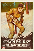 "Movie Posters:Western, The Law of the North (Paramount, 1918). One Sheet (27"" X 41"").. ..."