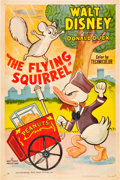 "Movie Posters:Animated, The Flying Squirrel (RKO, 1954). One Sheet (27"" X 41"").. ..."