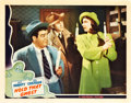 "Movie Posters:Comedy, Hold That Ghost (Universal, 1941). Lobby Card (11"" X 14"").. ..."