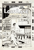 Original Comic Art:Covers, Kurt Schaffenberger Superman's Girl Friend Lois Lane #65 Cover Original Art (DC, 1965)....