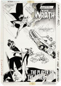 Original Comic Art:Splash Pages, Michael Golden Batman Special #1 Splash Page Original Art(DC, 1984)....