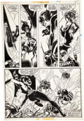Original Comic Art:Panel Pages, John Byrne and Mike Esposito Champions #14 Panel PageOriginal Art (Marvel, 1977)....