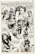 Original Comic Art:Splash Pages, Mike Sekowsky and Dick Giordano Wonder Woman #180 SplashPage 8 Original Art (DC, 1969)....