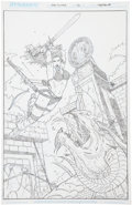Original Comic Art:Covers, Joe Prado Red Sonja #26 Cover Original Art (DynamiteEntertainment, 2007)....