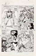 Original Comic Art:Panel Pages, Jack Kirby and Joe Sinnott Fantastic Four #61 Page 9Original Art (Marvel, 1967)....