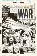 Original Comic Art:Covers, Joe Kubert Star Spangled War Stories #156 Unknown SoldierHitler Mask Cover Original Art (DC, 1971)....