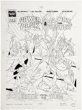 Original Comic Art:Covers, Carl Potts and Sal Velluto Cloak and Dagger and Power PackMarvel Graphic Novel Cover Original Art (Marvel, 1990)....