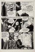 Original Comic Art:Panel Pages, Al Williamson and Carlos Garzon Return of the Jedi DarthVader and Luke Skywalker page 48 Original Art (Marvel, 19...