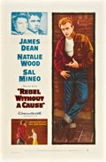"Movie Posters:Drama, Rebel without a Cause (Warner Brothers, R-1957). One Sheet (27"" X41"").. ..."