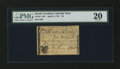 Colonial Notes:North Carolina, North Carolina April 2, 1776 $6 Squirrel PMG Very Fine 20....