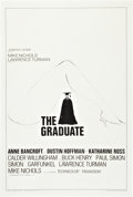 """Movie Posters:Comedy, The Graduate (Embassy, 1968). One Sheet (27"""" X 41"""") Style B.. ..."""