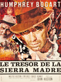 "Movie Posters:Drama, The Treasure of the Sierra Madre (Warner Brothers, R-1952). French Affiche (22.5"" X 30.5"").. ..."