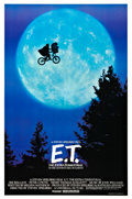 "Movie Posters:Science Fiction, E. T. The Extra-Terrestrial (Universal, 1982). One Sheet (27"" X40.5"") Bicycle Style.. ..."