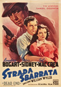 "Movie Posters:Crime, Dead End (Scalera Film, 1948). Italian Folio (27"" X 39"").. ..."