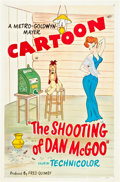 "Movie Posters:Animated, The Shooting of Dan McGoo (MGM, R-1951). One Sheet (27"" X 41"")....."