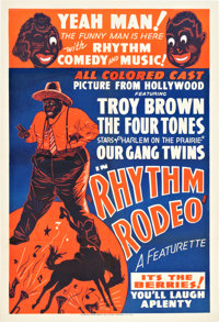 "Rhythm Rodeo (1938). One Sheet (28.25"" X 41.75"")"