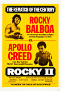 "Movie Posters:Sports, Rocky II (United Artists, 1979). Advance One Sheet (27"" X 41"").. ..."