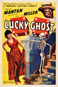 "Movie Posters:Black Films, Lucky Ghost (Toddy, 1941). One Sheet (27"" X 41"").. ..."