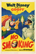 "Movie Posters:Animated, No Smoking (RKO, 1951). One Sheet (27"" X 41"").. ..."