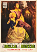 "Movie Posters:Drama, La Belle et la Bete (DisCina, 1946). Italian Folio (27.75"" X39.5"").. ..."