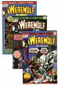 Bronze Age (1970-1979):Horror, Werewolf by Night Group (Marvel, 1972-76) Condition: AverageVF-.... (Total: 44 Comic Books)