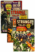 Golden Age (1938-1955):Horror, Strange Tales Group (Marvel, 1965-68) Condition: Average FN....(Total: 11 Comic Books)