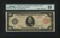 Fr. 959a $20 1914 Red Seal Federal Reserve Note PMG Very Good 10