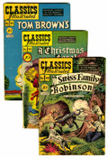 Golden Age (1938-1955):Classics Illustrated, Classics Illustrated Group (Gilberton, 1948-67) Condition: Average VG.... (Total: 9 Comic Books)