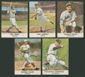 Autographs:Sports Cards, 1961 Golden Press Signed Cards Lot of 5. ...