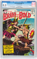 Silver Age (1956-1969):Adventure, The Brave and the Bold #19 River City pedigree (DC, 1958) CGC VF+ 8.5 Off-white to white pages....